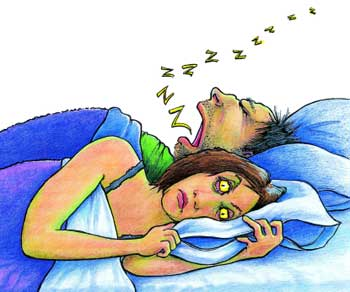 Sleep apnea headache